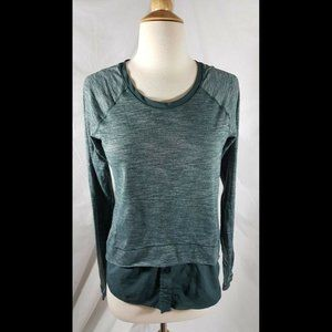 Lululemon Layered Longsleeve Tee top fuel green 4